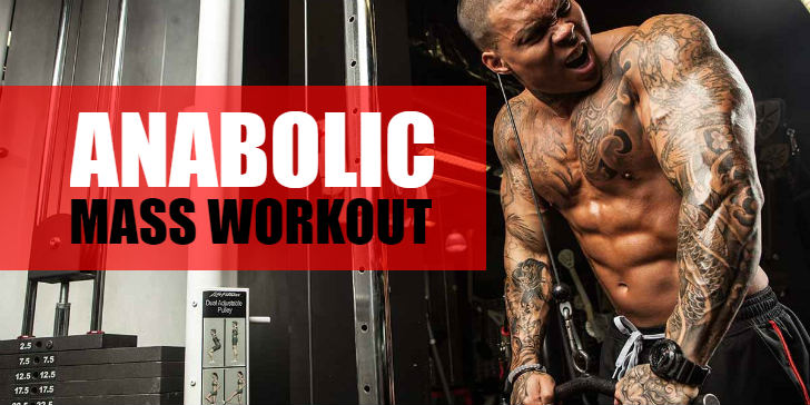 Take Your Gains To The Next Level With The Anabolic Mass Workout